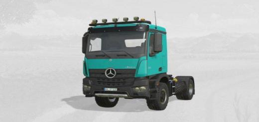 Photo of FS19 – Mercedes-Benz Arocs Agrar V5