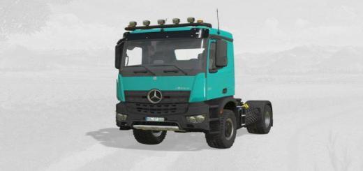 Photo of FS19 – Mercedes-Benz Arocs Agrar V6