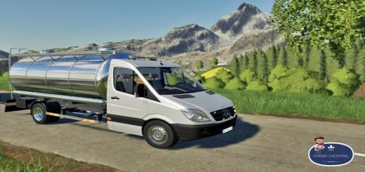 Photo of FS19 – Mercedes Sprinter Tanker V1