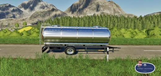 Photo of FS19 – Mercedes Tanker Trailer V1
