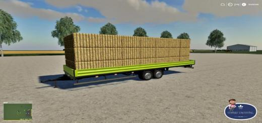 Photo of FS19 – Mercedes Trailer V1.2
