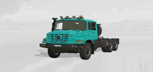 Photo of FS19 – Mercedes Zetros 3643 6X6 V3