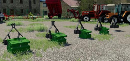 Photo of FS19 – Mx Weight Triangle V1