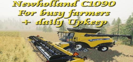 Photo of FS19 – New Holland Cr1090 Harvester V1