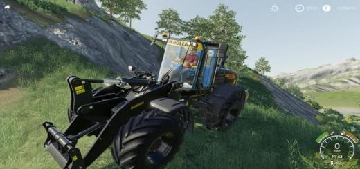 Photo of FS19 – New Holland W190 D Mp V1.1