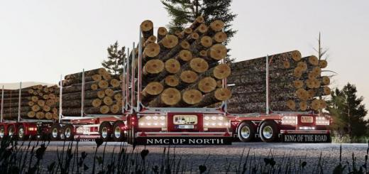 Photo of FS19 – Nmc Log Trailer Pack V1