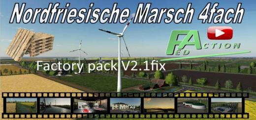 Photo of FS19 – North Frisian March Factory Pack V2.1