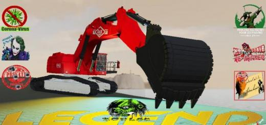 Photo of FS19 – O&K Excavator Rh45 V1.5