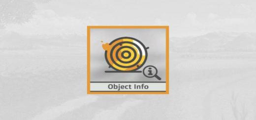 Photo of FS19 – Object Info V1.0.0.1