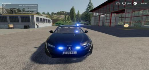 Photo of FS19 – Peugeot 508 Sw 2019 Kripo V1.1