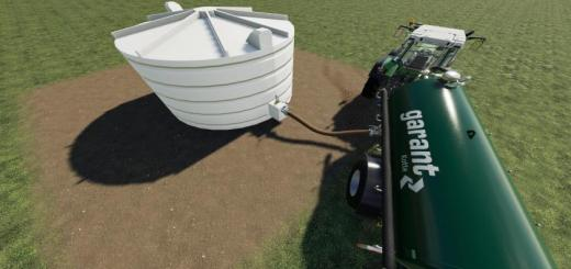 Photo of FS19 – Placeable Water Tank V1