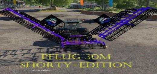 Photo of FS19 – Plow 30M Shorty – Edition V1.2