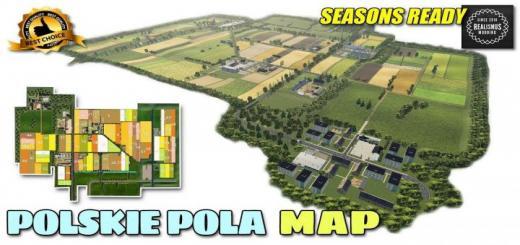 Photo of FS19 – Polskie Pola Map V2.1