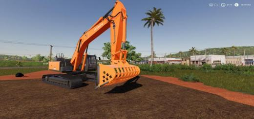 Photo of FS19 – Screen Bucket For Hitachi Excavators V0.6