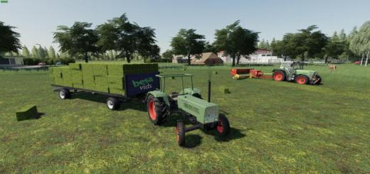 Photo of FS19 – Small Bales Autoload V1