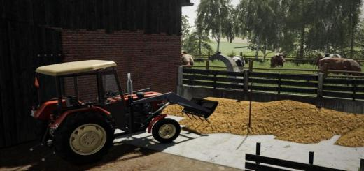 Photo of FS19 – Small Cowshed With Pasture V1.0.0.1