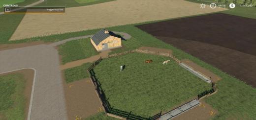 Photo of FS19 – Small Horse Barn And Paddock Beta
