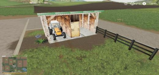 Photo of FS19 – Small Shed Or Horse Barn Wip V1