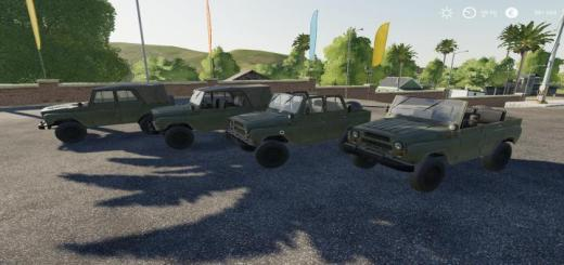 Photo of FS19 – Uaz-469K V1