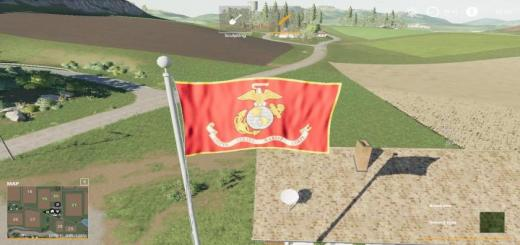 Photo of FS19 – Usms Flag V1