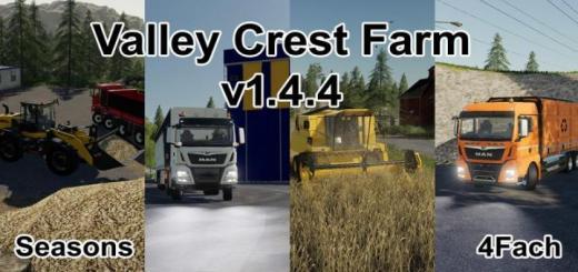 Photo of FS19 – Valley Crest Farm 4X V1.4.4