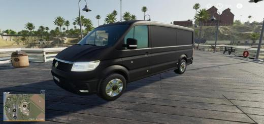 Photo of FS19 – Volkswagen Crafter 4Motion Van 2017 V1