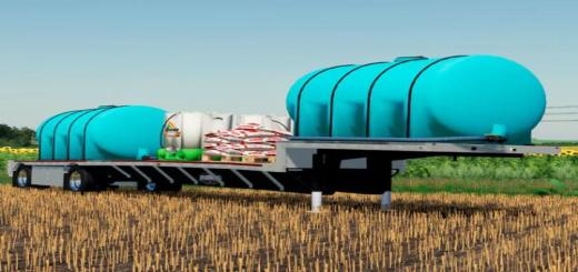 Photo of FS19 – Wilson Step-Deck Fertilizer Trailer V1.1
