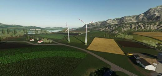 Photo of FS19 – Wind Turbine Large And Small V1.1