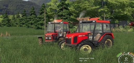 Photo of FS19 – Zetor 7340 Tractor V1