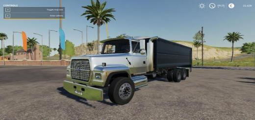 Photo of FS19 – 1997 Ford L9000 Ar Truck Pack V1
