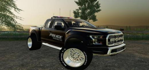 Photo of FS19 – 2017 Ford Raptor Police Edition V1