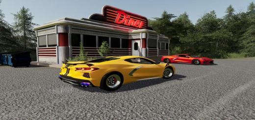 Photo of FS19 – 2020 Corvette V1