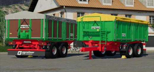 Photo of FS19 – Agroliner Tdk 302 Old Trailer V1