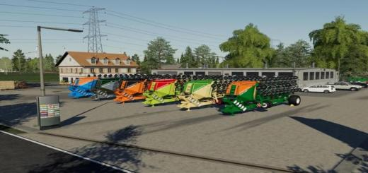 Photo of FS19 – Amazone Condor15001 Nf-Marsch Multifruit Multicolor V2.6