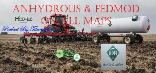 Photo of FS19 – Anhydrous & Fedmodson All Maps V1