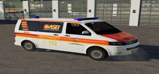 Photo of FS19 – Asb Emergency Doctor Vw T5 V1