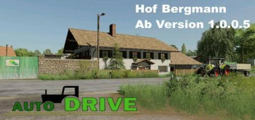 Photo of FS19 – Autodrive Route Network Hof Bergmann V1.2