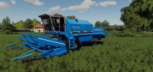 Photo of FS19 – Bizon Rekord Z058 Blue V1