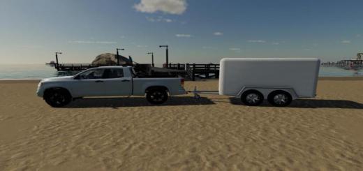 Photo of FS19 – Box Truck Trailer V1