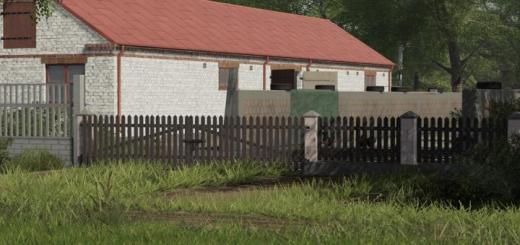 Photo of FS19 – Brick Fence And Gates V1