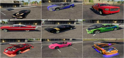 Photo of FS19 – Cars Pack
