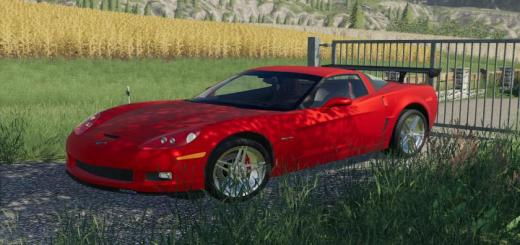 Photo of FS19 – Chevrolet Corvette Z06 2006 V1.0.0.1