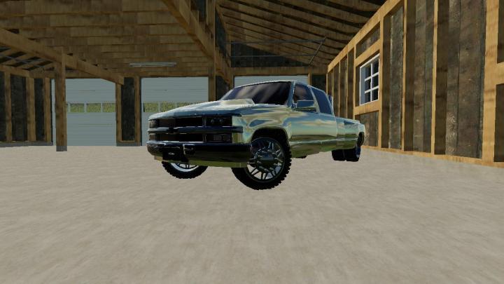 FS19 - Chevy 3500 Lowered V1