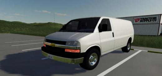 Photo of FS19 – Chevy Express V1