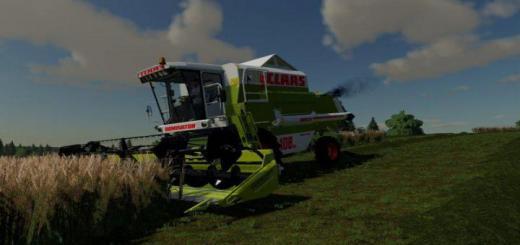Photo of FS19 – Claas Dominator 108 Sl Maxi V1.1