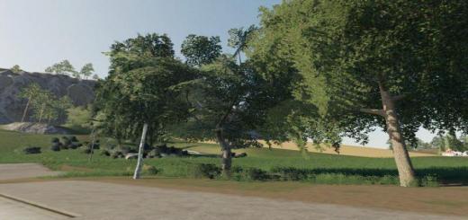 Photo of FS19 – Dark Trees & Bush Textures V1