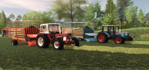 Photo of FS19 – Eicherladewagen Pack V2