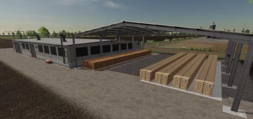 Photo of FS19 – Euro Pallet Production With Global Company Script V1.2