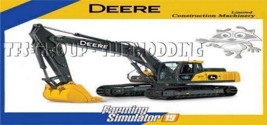 Photo of FS19 – Excavator Deere 210 G V1.5