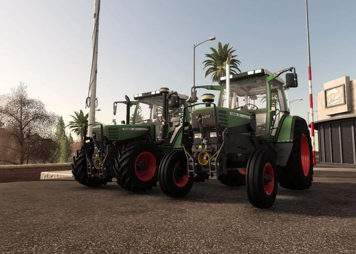 FS19 - Fendt Farmer 300 With 2Wd V1